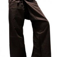 WOW  FISHERMANS FORESTS PANTS HIPPY LIST HIPPIE PINK YOGA COTTON  THAI FREE SIZE